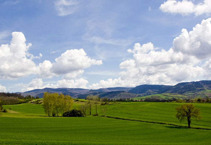 beautiful panoramic landscape in Tarn, near Batisse Belhomme, guest bedrooms, guest house